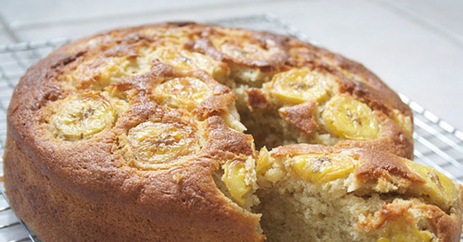 Banana Cake Recipe In Urdu Video: Pakistani Cuisine