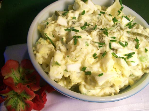 Creamy Mashed Potato Salad Recipe