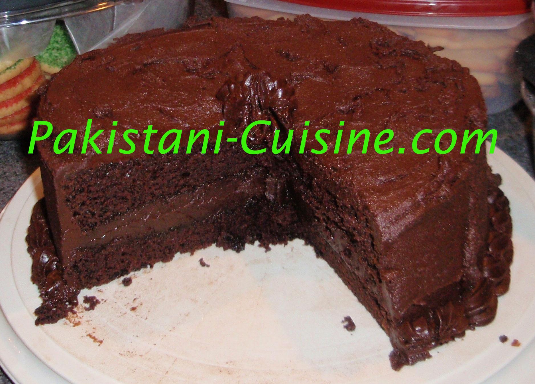 Chocolate Cake - Pakistani Cuisine