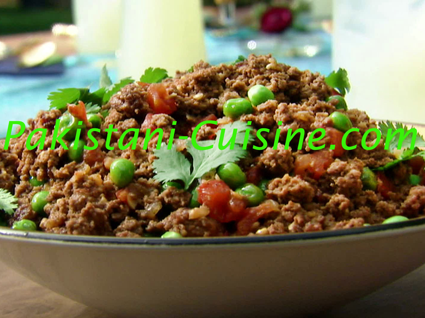 Spicy Qeema