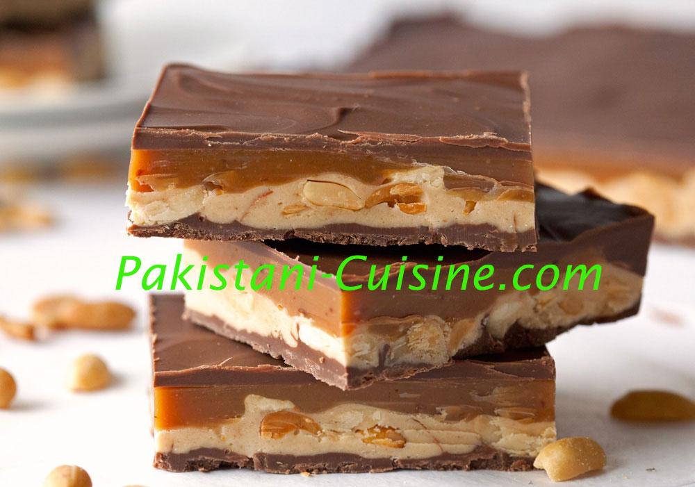 Caramel Chocolate Bars
