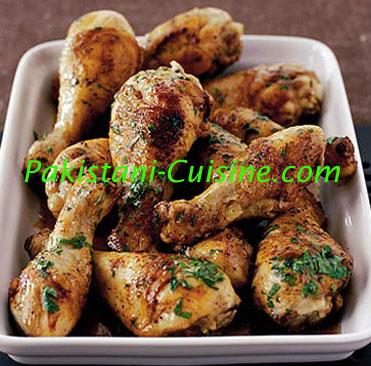 Chicken Drumsticks Pakistani Cuisine