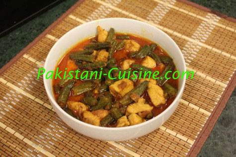 Chicken Bhindi Masala