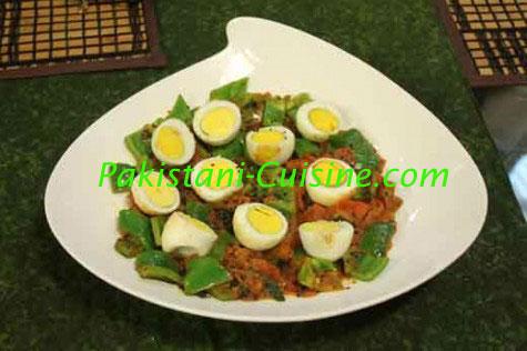 Eggs With Tomato & Capsicum