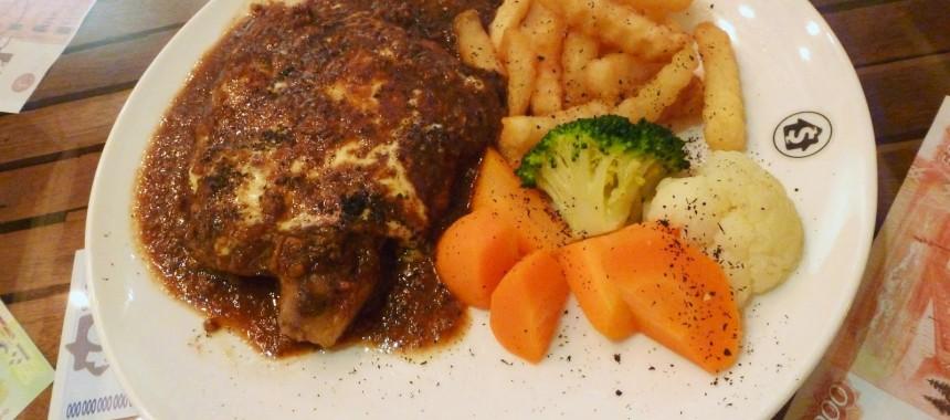 Roast Chicken With Brown Sauce