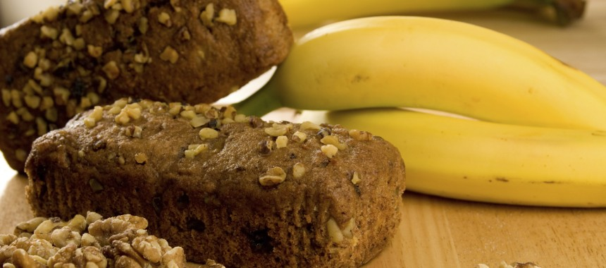 Banana Date Loaf