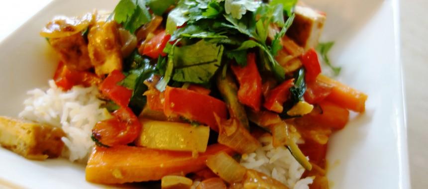 Chicken Saucy Vegetables