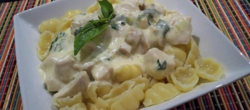 Creamy Herb Pasta