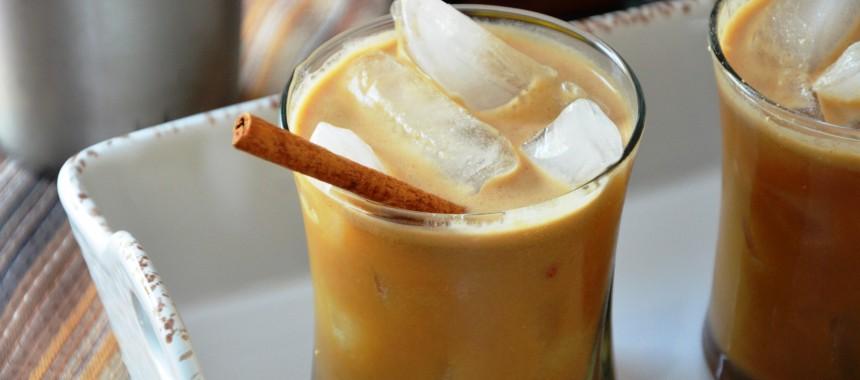 Date Almond Iced Coffee