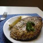Green Masala Fish Steak